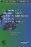 La convention internationale sur la biodiversité