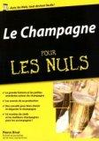 Le champagne pour les Nuls