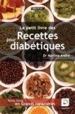 Le petit livre des recettes pour diabétiques
