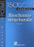 150 QCM corrigés Biochimie structurale