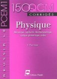 150 QCM corrigés Physique