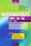 Mathématiques Tout-en-un 2e année PC-PSI
