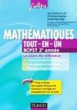 Mathématiques Tout-en-un BCPST 2e année