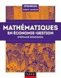 Mathématiques pour l'économie-gestion