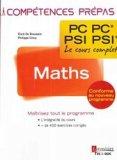 Maths 2e année PC PC PSI PSI