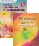 Manuel d'anatomie + 1600 questions en anatomie et physiologie - Pack 2 ouvrages