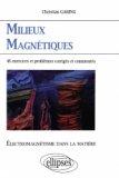 Milieux magnétiques