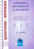 Modules IV-V-VI