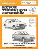 Opel ''Kadett'' D et E et Combo