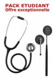 PACK ETUDIANT - St�thoscope Magister + Marteau r�flex Spengler ADULTE - NOIR