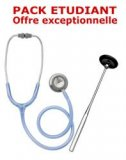 PACK ETUDIANT - St�thoscope Magister + Marteau r�flex Spengler ADULTE - GRIS ALIZE