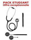 PACK ETUDIANT - St�thoscope Magister - Marteau r�flex Spengler - Lampe stylo � LED Litestick Spengler - NOIR