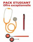 PACK ETUDIANT - St�thoscope Magister - Marteau r�flex Spengler - Lampe stylo � LED Litestick Spengler - ORANGE