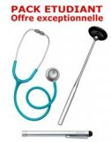 PACK ETUDIANT - St�thoscope Magister - Marteau r�flex Spengler - Lampe stylo � LED Litestick Spengler - VERT