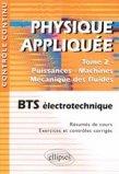 Physique appliquée Tome 2 Puissance - Machines - Mécanique des fluides