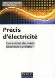 Précis d'Electricité