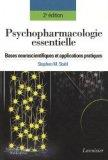 Psychopharmacologie essentielle