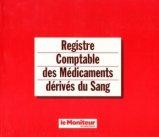 Registre comptable des médicaments dérivés du sang