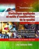 Statistiques appliquées et outils d'amélioration de la qualité