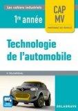 Technologie de l'automobile CAP 1re année (2017) - Pochette élève