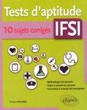 Tests d'aptitude IFSI ? 10 sujets corrigés