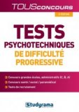 Tests psychotechniques de difficulté progressive