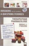 Thérapeutique - Pharmacologie
