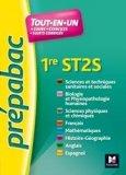 Toutes les matières - 1re ST2S