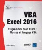 VBA Excel 2016 Programmer sous Excel