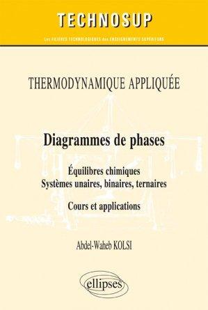 Thermodynamique Appliqu U00e9e