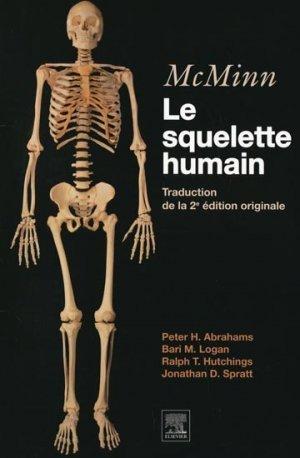 mcminn le squelette humain peter h abrahams bari m logan ralph t hutchings jonathan d. Black Bedroom Furniture Sets. Home Design Ideas