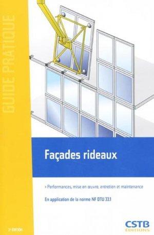 Fa ades rideaux en application de la norme nf dtu 33 1 for Norme nf dtu 24 1