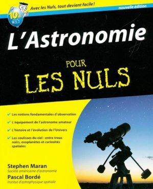 L 39 astronomie pour les nuls stephen maran 9782754030441 - Salon de l astronomie ...